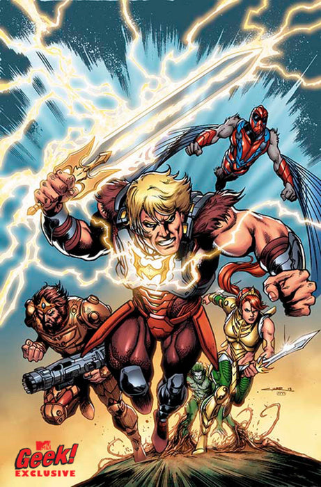 He Man And The Masters Of Theuniverse #7 Comic Book