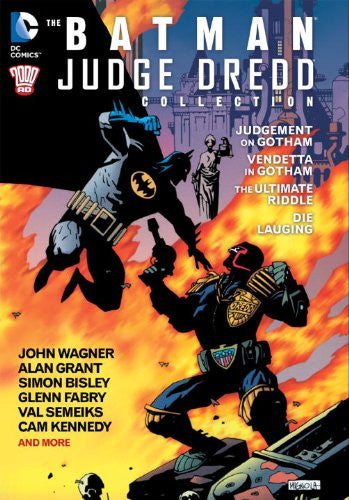 Batman Paperpack Judge Dredo Collection