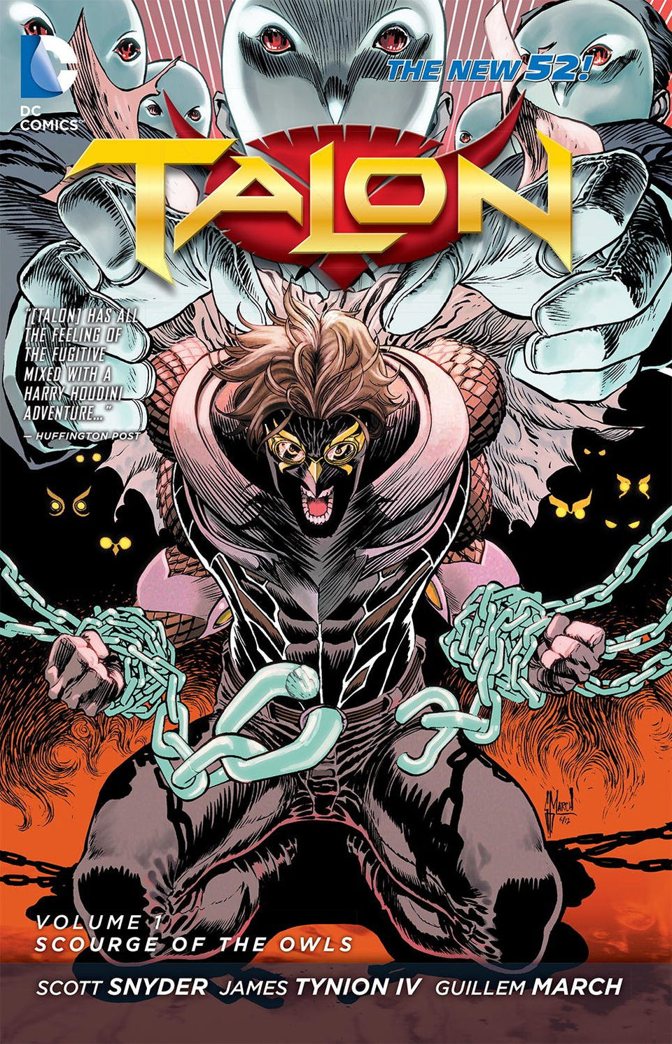 Talon Vol. 1 Scourge of the Owls Paperback - www.entertainmentstore.in