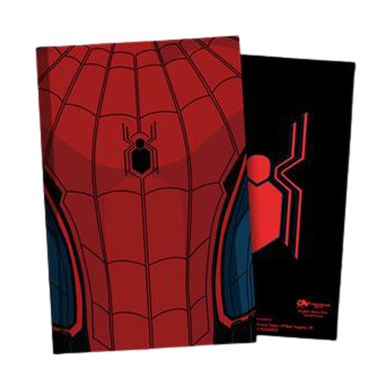 Spiderman Suit FFH Notebook - www.entertainmentstore.in
