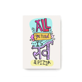 Love And Pizza Mini Diary