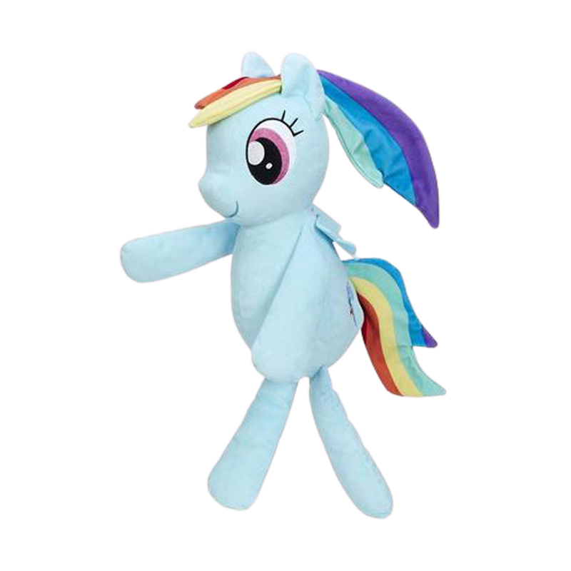 My Little Pony Rainbow Dash Huggable Plush - www.entertainmentstore.in