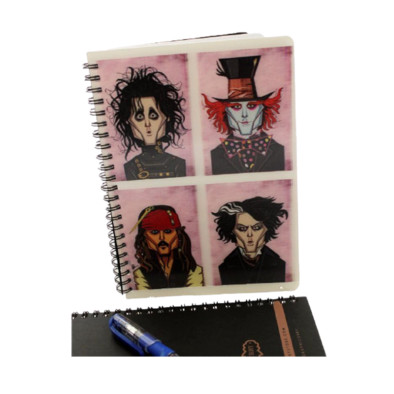Johnny Depp 3D Diary - www.entertainmentstore.in