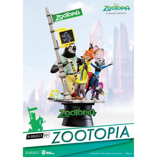 Disney D Select Zootopia Diorama Statue - www.entertainmentstore.in