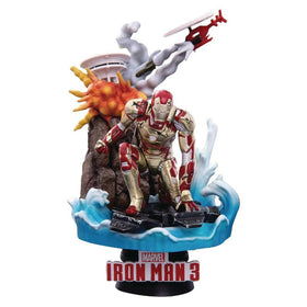 Marvel Iron Man 3 D-Select Iron Man Mk 42 Figure