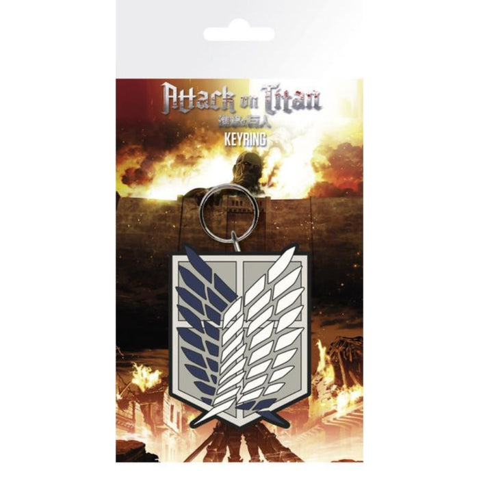 Attack On Titan Season 2 Badge Keyring