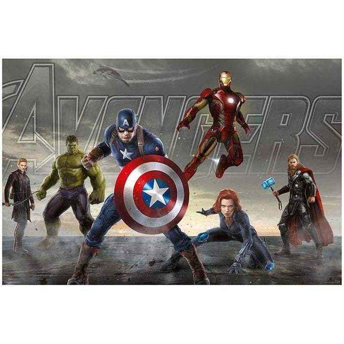 Avengers Together Mini Poster