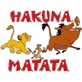 Lion King Hakuna Matata Sticker