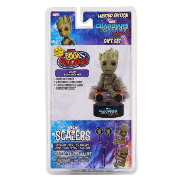 """NECA Scalers 2/"""" Characters Guardians of Galaxy 2 Groot Toy Figure Comic Book New"""