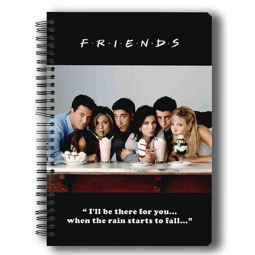 Friends Straw Notebook