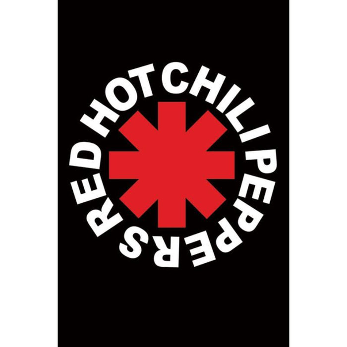 Red Hot Chili Peppers Logo Maxi Poster - www.entertainmentstore.in