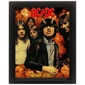 AC/DC Highway to Hell 3D Lenticular Poster