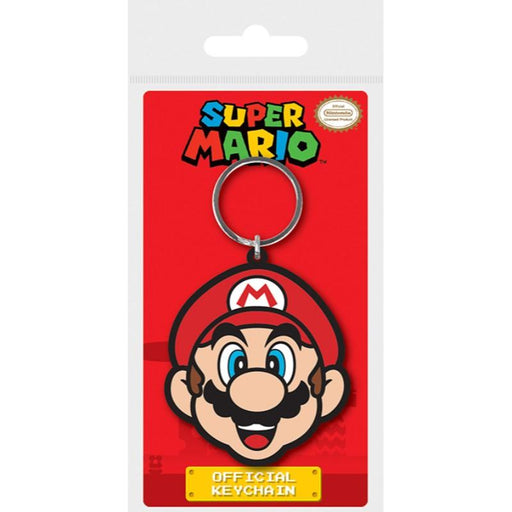 Super Mario Mario Rubber Keychian - www.entertainmentstore.in