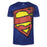 Superman (798) Royal Blue Melange T Shirt