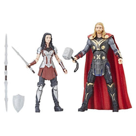 Marvel Studios The First Ten Years Thor The Dark World Thor and Sif Action Figure