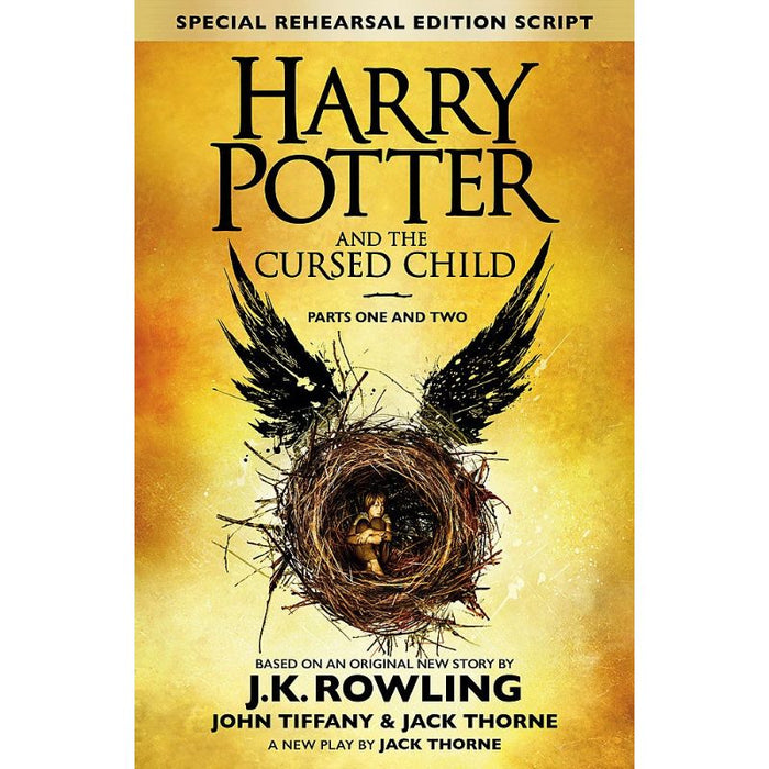 Harry Potter and the Cursed Child  Parts One And Two Hard Cover