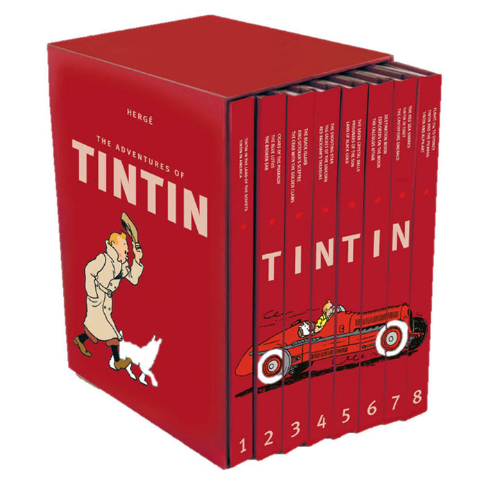 Complete Adventures Of Tintin Hard Cover