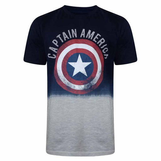 Captain America (419) Mood Indigo T Shirt