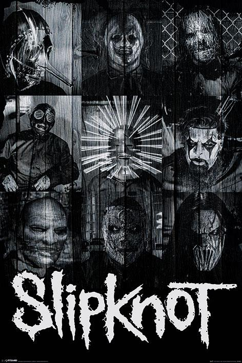 Slipknot (Masks) Maxi Poster