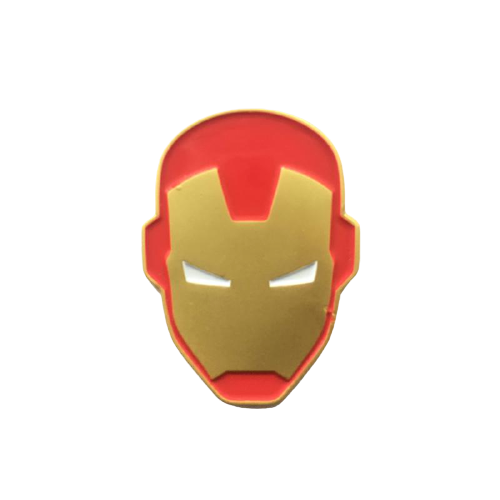 Iron Man Face Pin - www.entertainmentstore.in