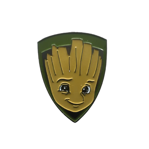 Groot Face Pin - www.entertainmentstore.in