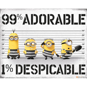Despicable Me 3 (99% Adorable1% Despicable Me Mini Poster