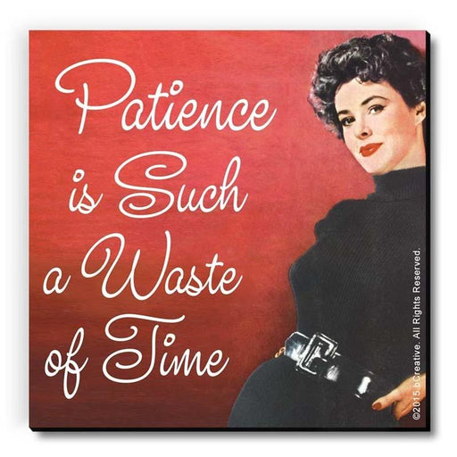 Patience Is Such A Waste OfTime Magnet