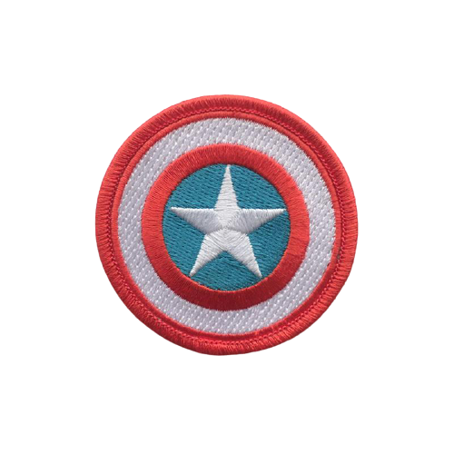 Captain America Shield Iron Patch - www.entertainmentstore.in