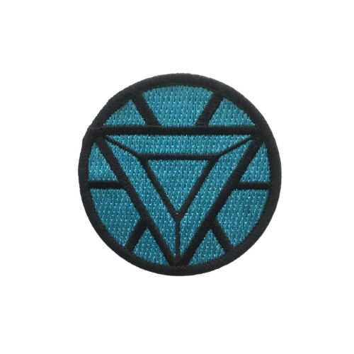 Iron Man Arc Reactor iron Patch - www.entertainmentstore.in
