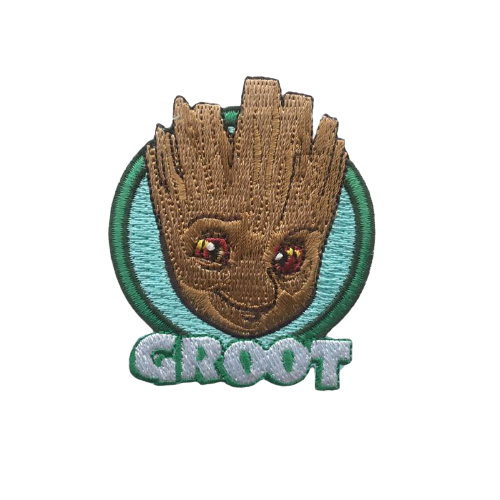 Groot Face Iron Patch - www.entertainmentstore.in