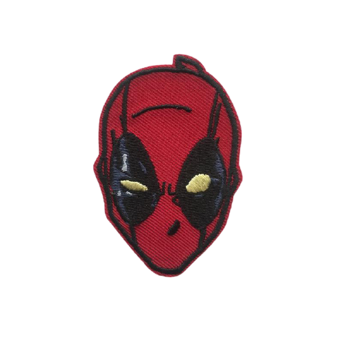 Deadpool Face Iron Patch - www.entertainmentstore.in