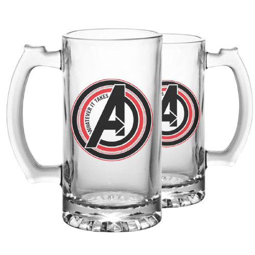 Avengers Whatever It Beer Mug - www.entertainmentstore.in