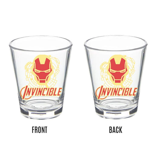 Iron Man Invincible Shot Glass - www.entertainmentstore.in