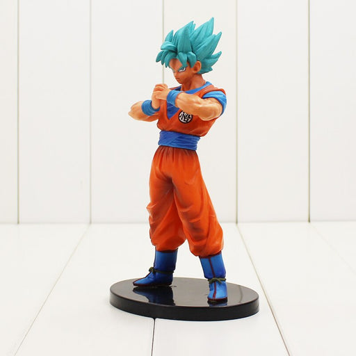Dragon Ball Super Saiyan God Son Goku DXF The Super Warriors Val.4 Statue - www.entertainmentstore.in