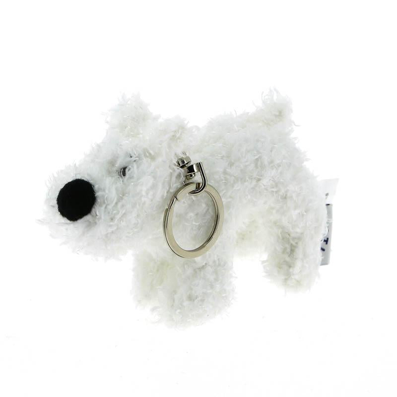 Tintin Soft Snowy keyring 8Cm - www.entertainmentstore.in