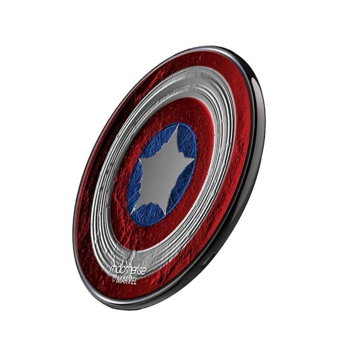 Captain America Stoned Shield QI Compatible Pro Wireless Charger