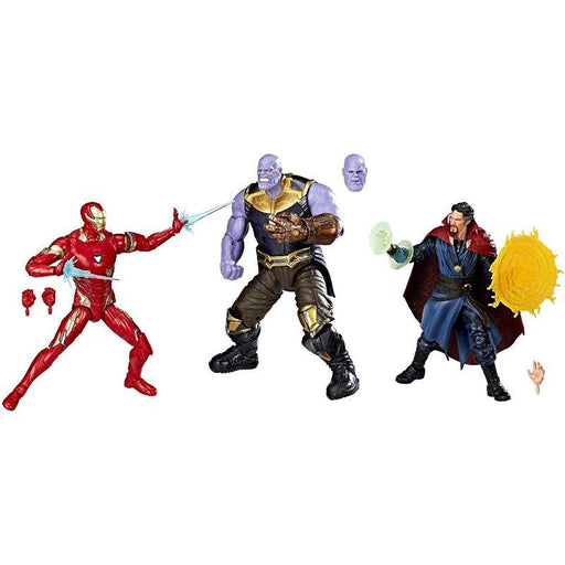 Iron Man, Doctor Strange and Thanos The First Ten Years Avengers Infinity War Figure 3 Pack - www.entertainmentstore.in