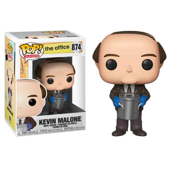 Kevin Malone with Chili The Office Pop Figure