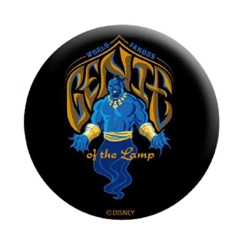 Aladdin Genie Aladdin Badge - www.entertainmentstore.in