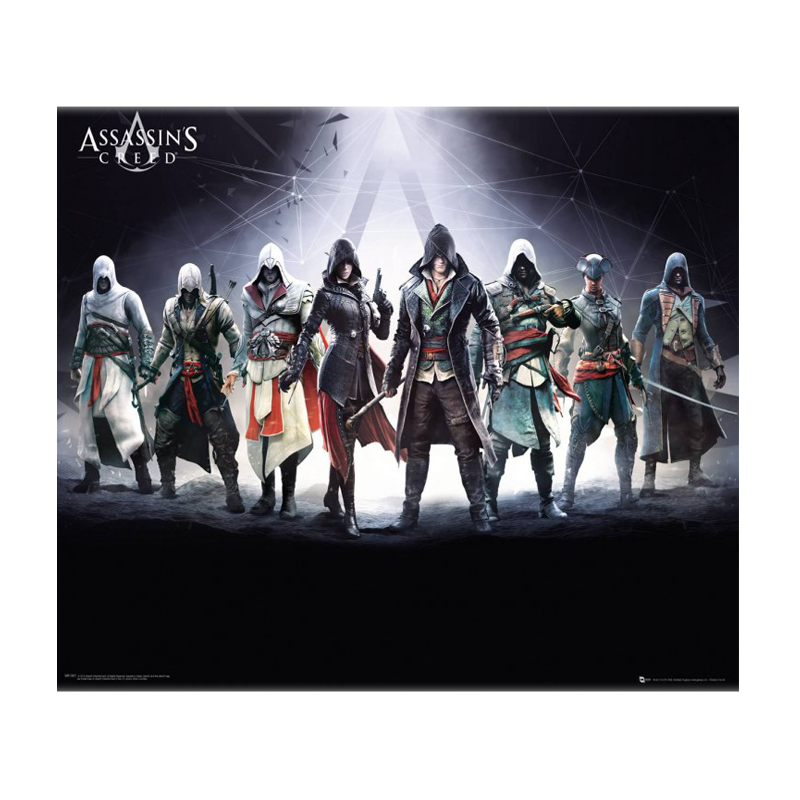 Assassins Creed Characters Mini Poster - www.entertainmentstore.in