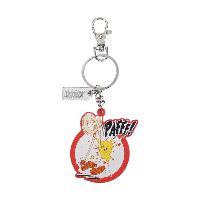 Asterix Pafff Reversible Rubber Key Chain - www.entertainmentstore.in