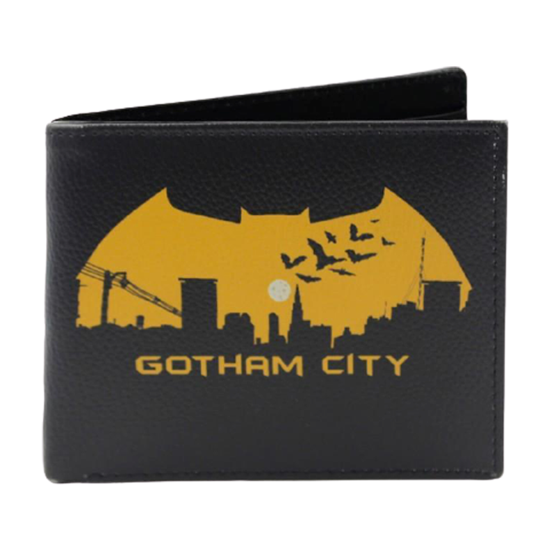 Batman Gotham City Black Wallet - www.entertainmentstore.in