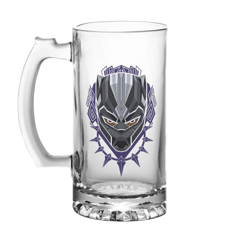Black Panther Beer Mug - www.entertainmentstore.in