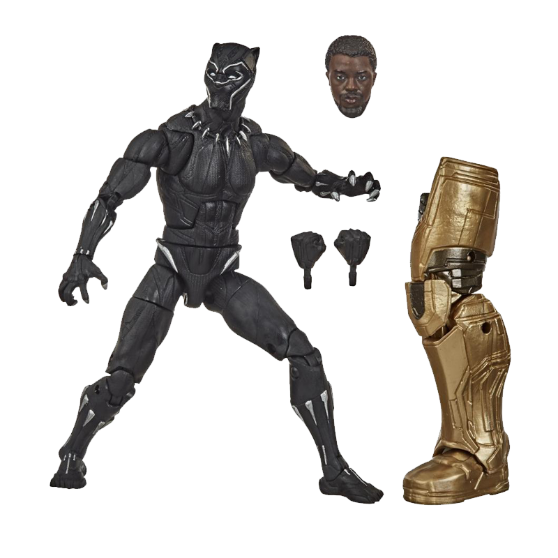 Black Panther  Marvel Legends Series  6 Inch  Action figures - www.entertainmentstore.in