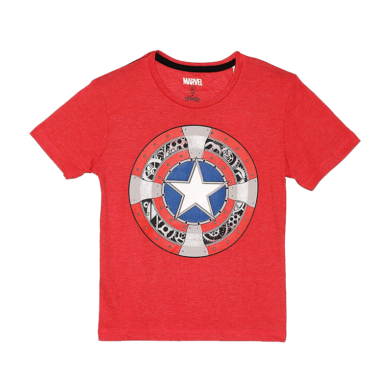 Captain America (2285) Red kidsT Shirts - www.entertainmentstore.in