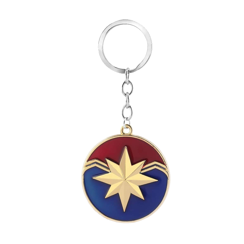 Captain Marvel Logo Keychain - www.entertainmentstore.in