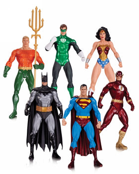 DC Collectibles Justice League Action Figure (Pack of 6)
