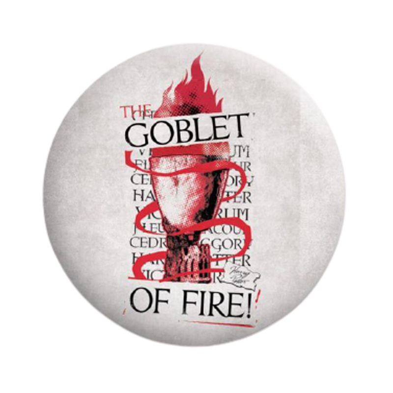 Harry Potter Goblet Badge - www.entertainmentstore.in