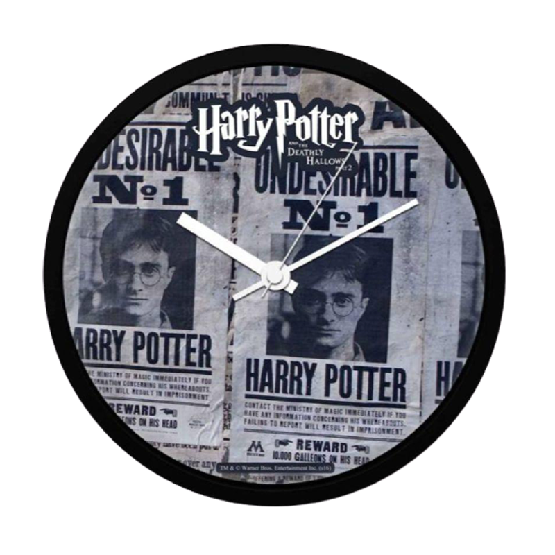 Harry Potter Undesirable No 1 WallClock - www.entertainmentstore.in