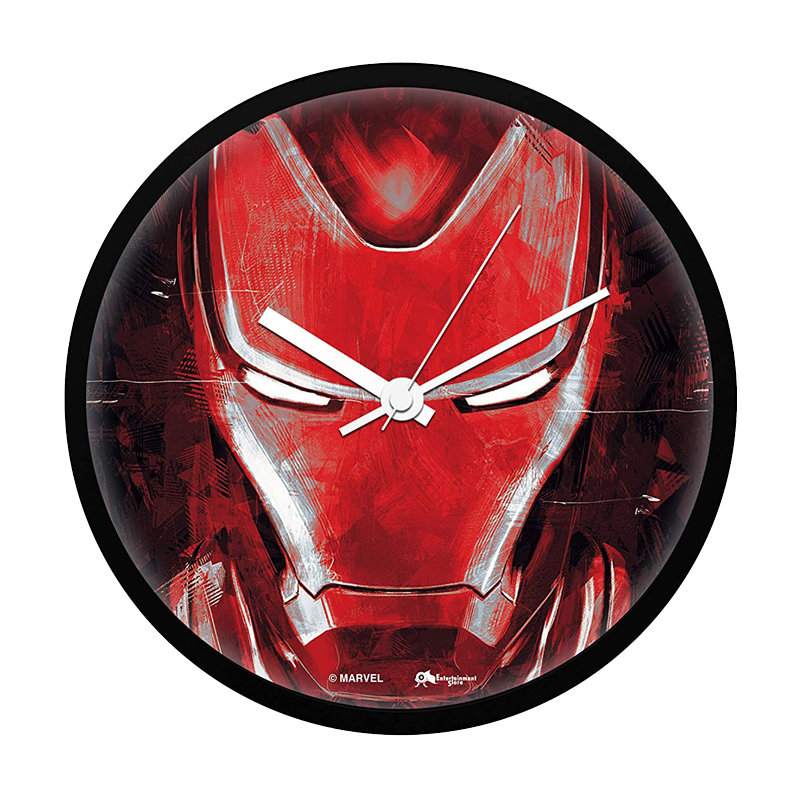 Marvel Iron Man End Game Wall Clock - www.entertainmentstore.in